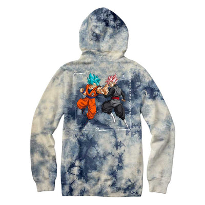 Goku VS Washed Hoodie - Navy