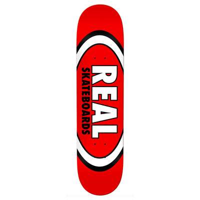 Classic Oval Deck Red 8.1""
