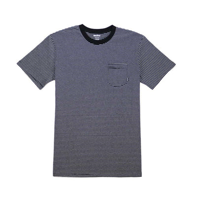 Ross Stripe Tee - Black/White
