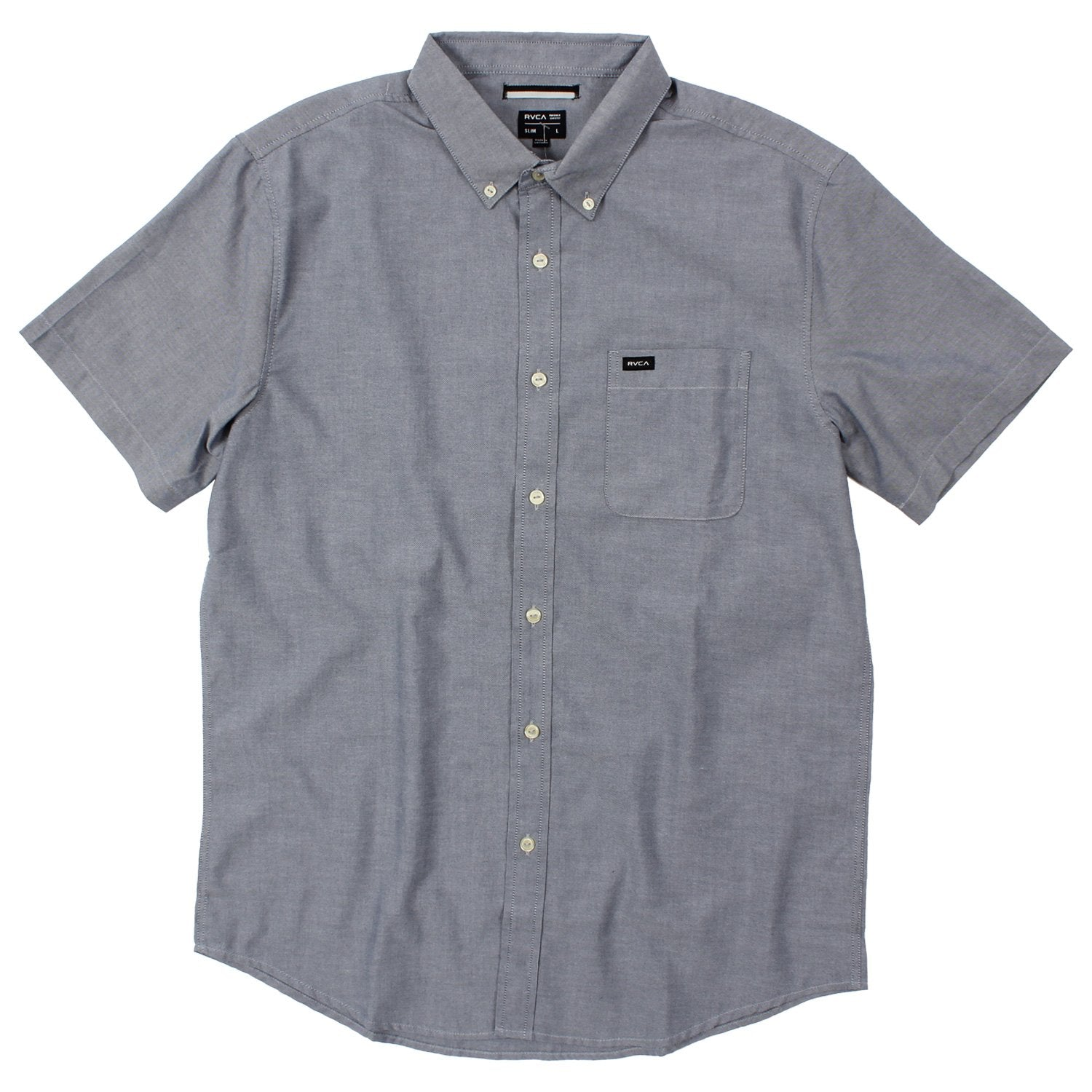 Men's RVCA That'll Do Short-Sleeved Woven Button Up Shirt