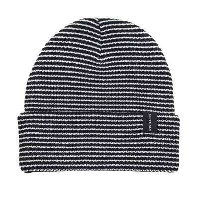 Select Stripe Beanie - Black