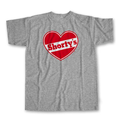 Shorty's Heart T-Shirt - Grey