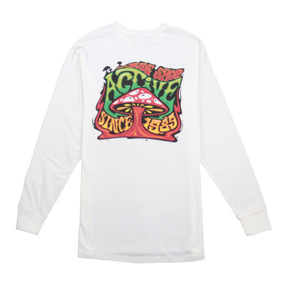 Shroom II Long Sleeve T-Shirt - White