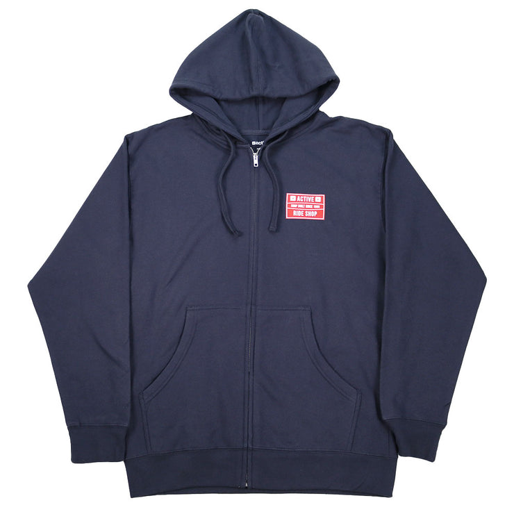 Sidekick Zip Up Hoodie - Navy
