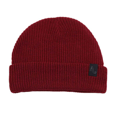 Simple Beanie - Burgundy