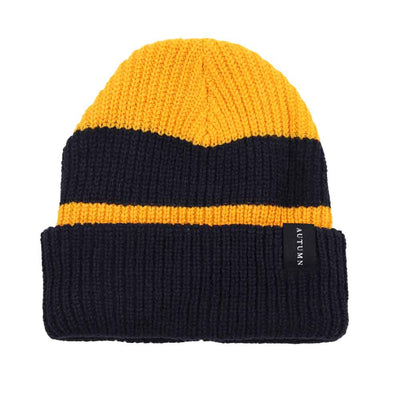 Simple Rugby Beanie - Black