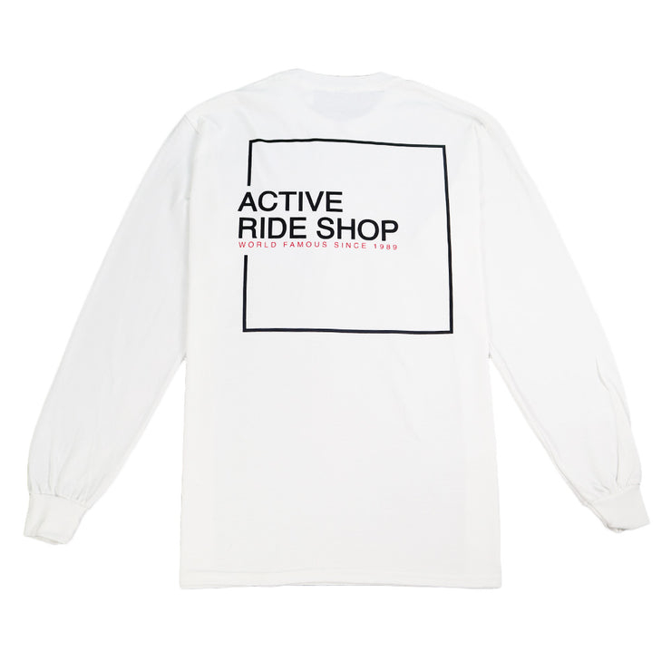 Square Long Sleeve - White