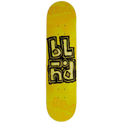 OG Stacked Stamp Yellow Deck 7.75""