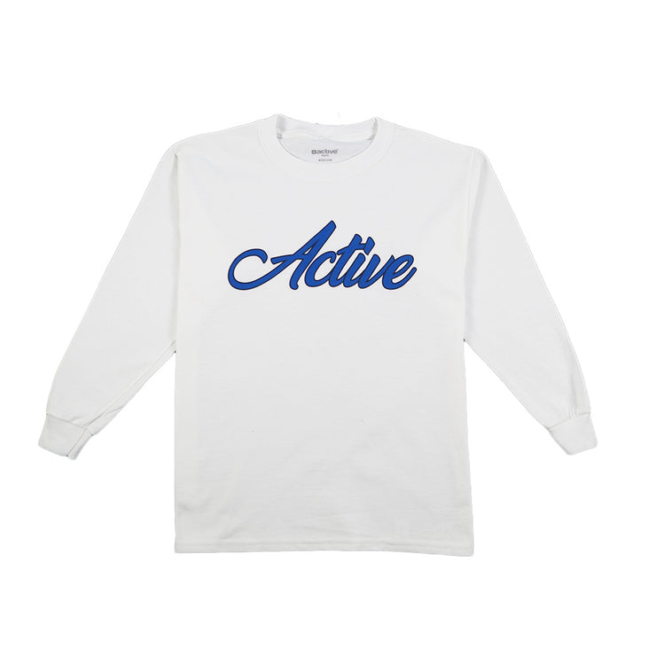 Swift Youth Long Sleeve - White