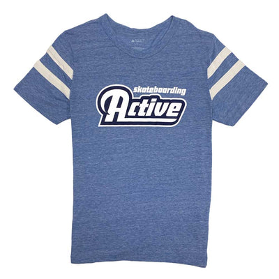 Team Logo Football T-Shirt - Blue
