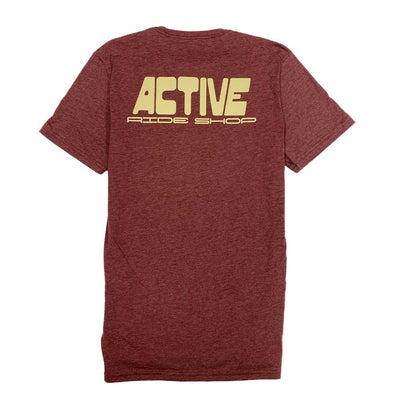 Tiki T-Shirt - Burgundy