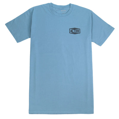 Travel T-Shirt - Slate Blue