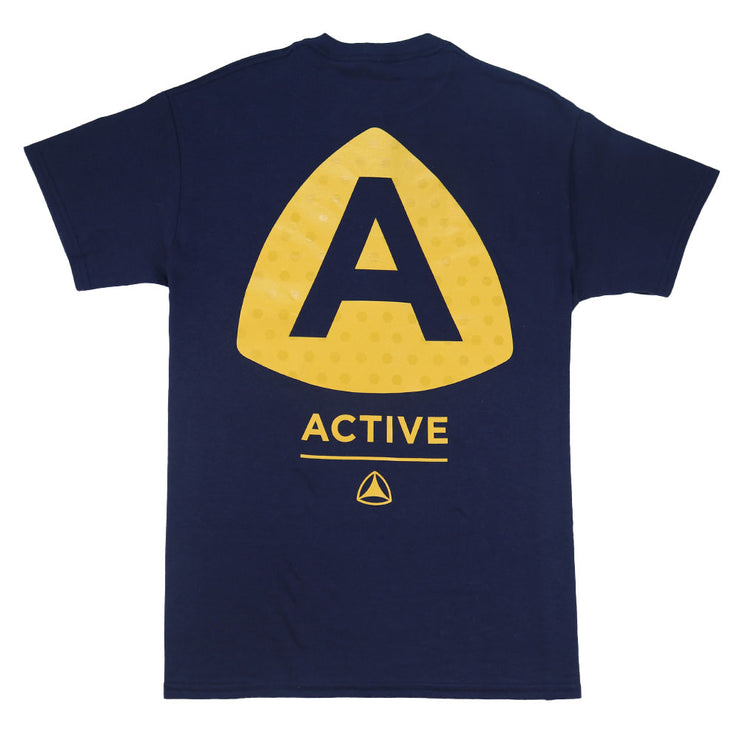 Upper Case T-Shirt - Navy