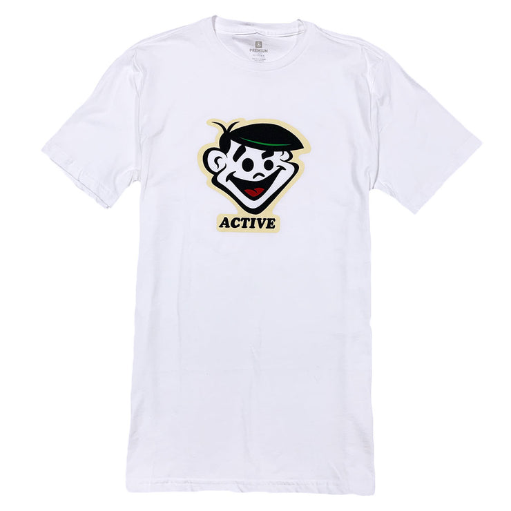 Waterslide Tee - White