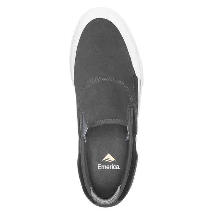 Wino G6 Slip On - Dark Grey/Black