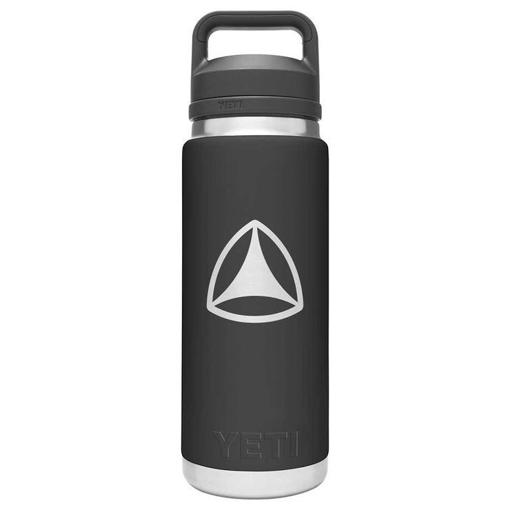 Custom Yeti Rambler 26oz With Chug Cap - Black