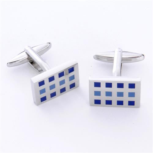 Dashing Cuff Links with Personalized Case  - 12SQUARES