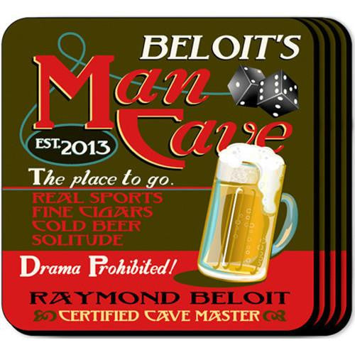 Coaster Set  - MAN CAVE
