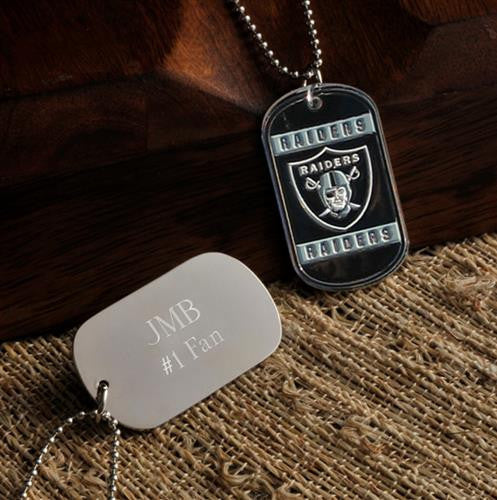NFL Dog Tag  - RAIDERS