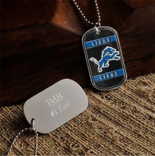NFL Dog Tag  - LIONS