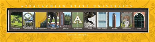College Campus Art - Appalachia State University