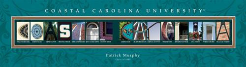 College Campus Art - Coastal Carolina University