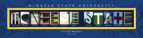 College Campus Art - McNeese State University