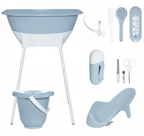 Baby Blue Bath Set - Luma Baby Blue Bath