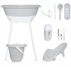 Light Grey Bath Set