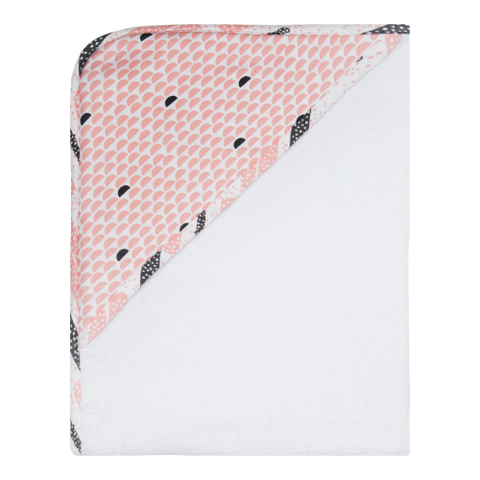 Luma Babycare Hooded Towel-Peach Moon -