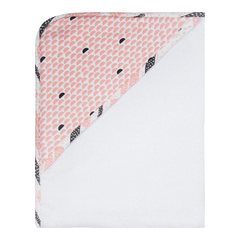 Luma Babycare Hooded Towel-Peach Moon