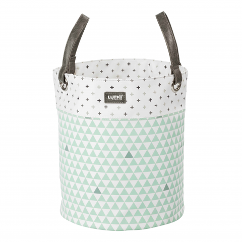 Luma Misty Mint Large Basket - Large Luma Toy Basket