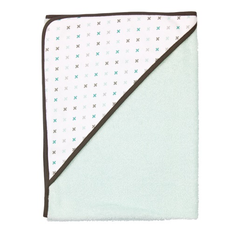 Misty Mint Hooded Towel