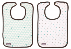 Luma Misty Mint Bib Set