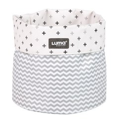 Luma Snow White Nursery Basket