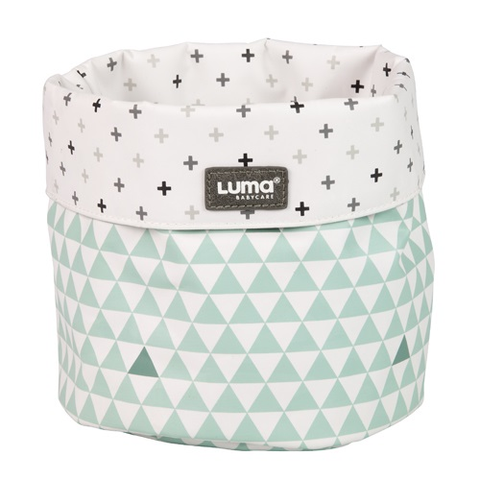 Luma Misty Mint Nursery Basket - Misty Mint Nursery Basket