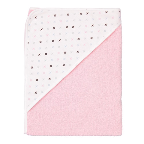 Pastel Pink Hooded Towel - Hooded Towel - Pastel Pink