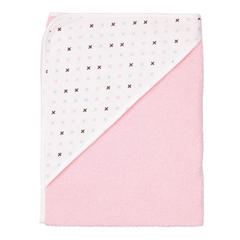 Pastel Pink Hooded Towel