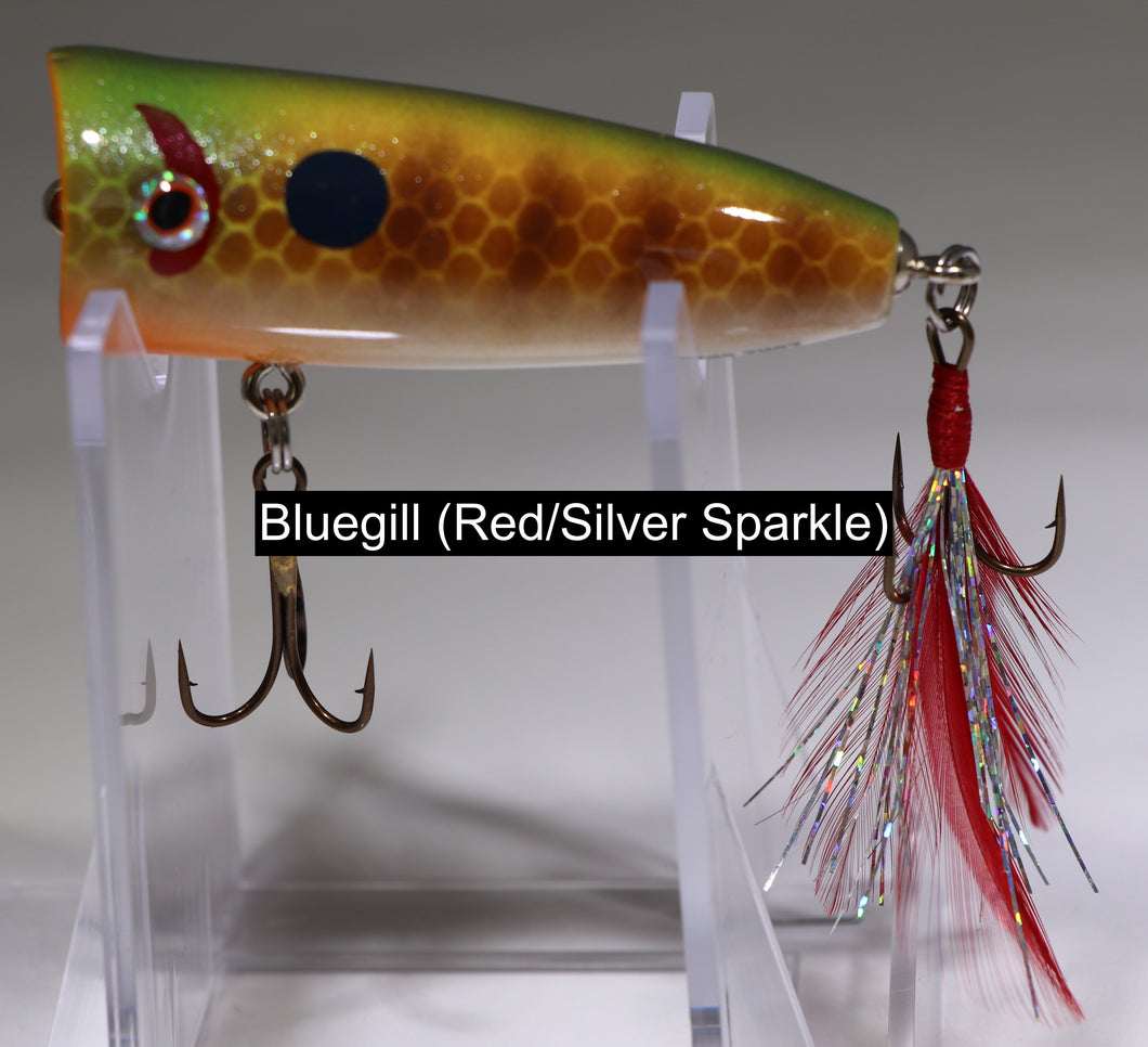 Handmade Lure Company - Surface Popper – The Local Fisherman