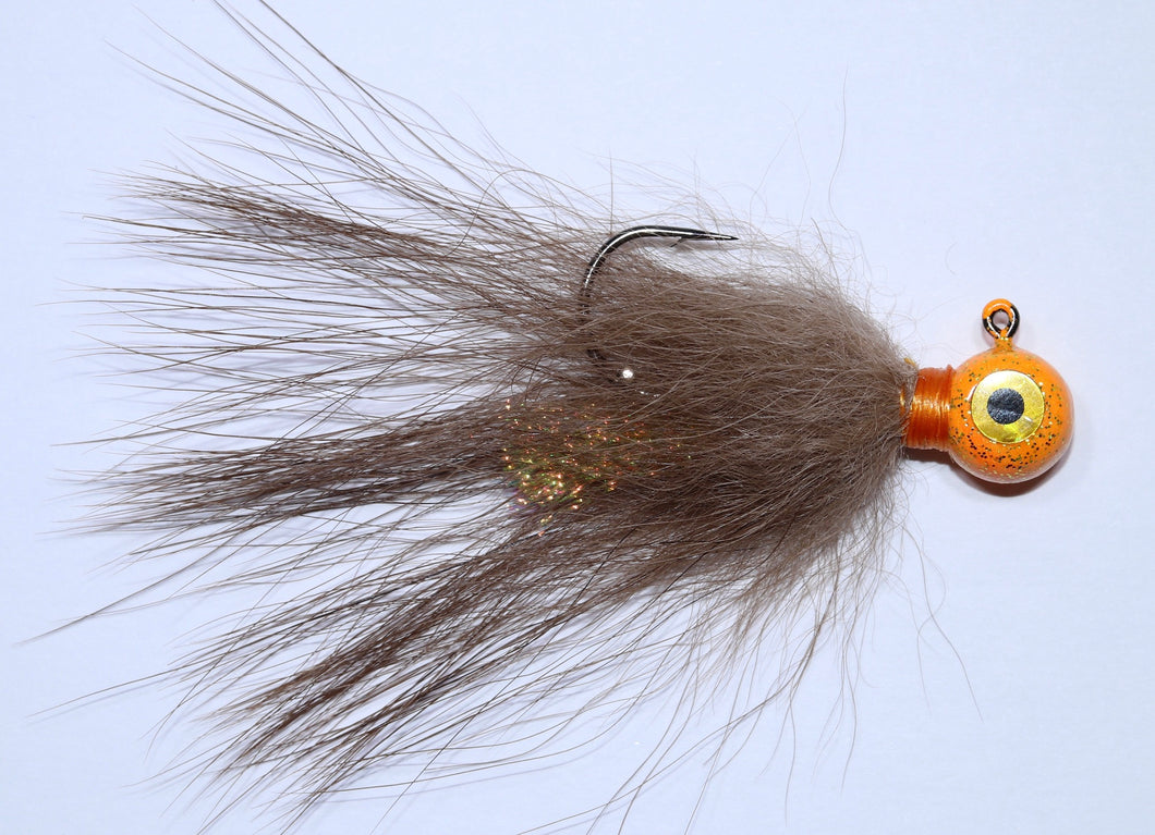 Jimmy D's River Bugs > The Goby Jig - Round Head