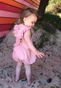 Peggy Playsuit DUSTY PINK