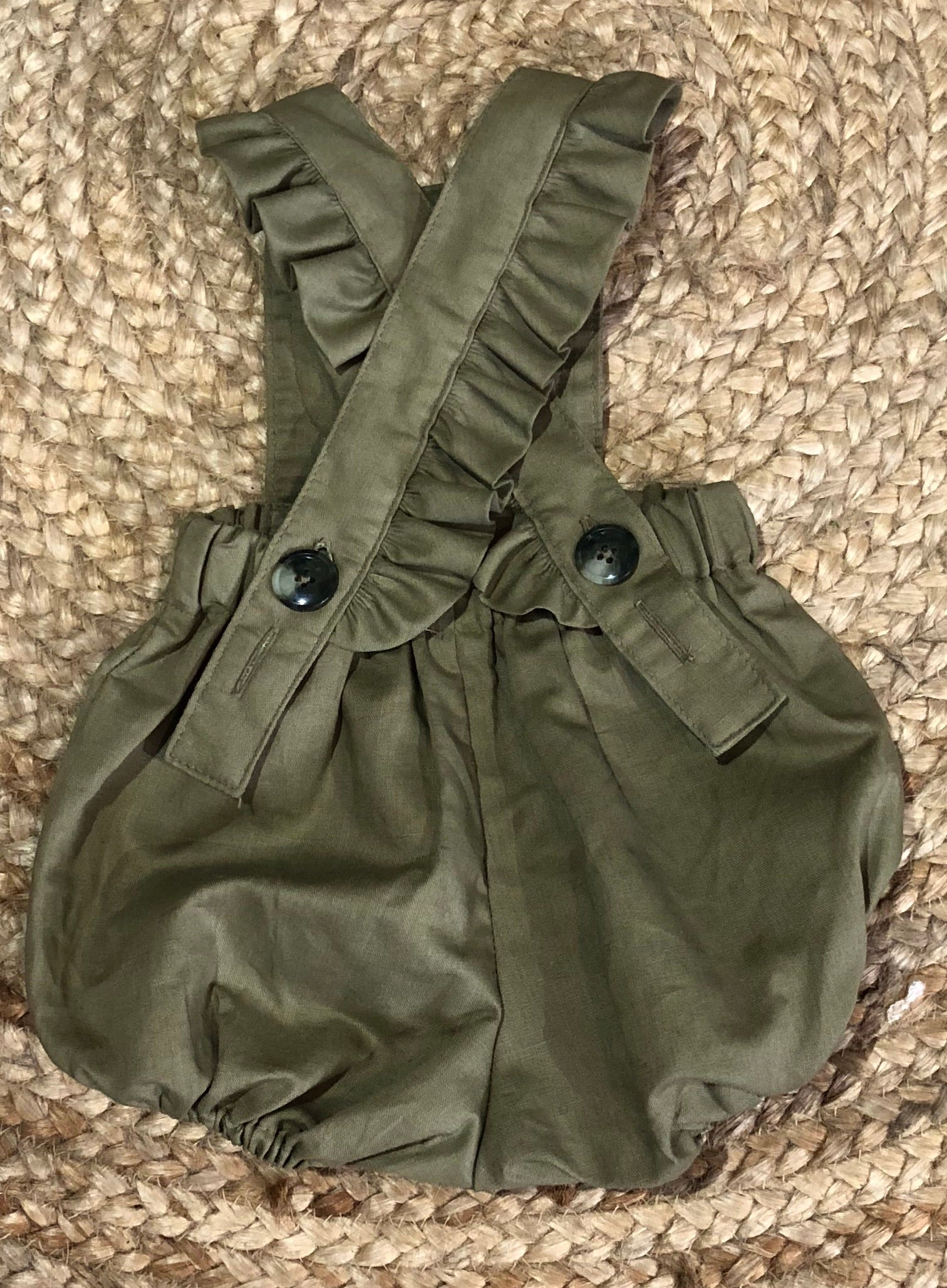 Peggy Playsuit OLIVE