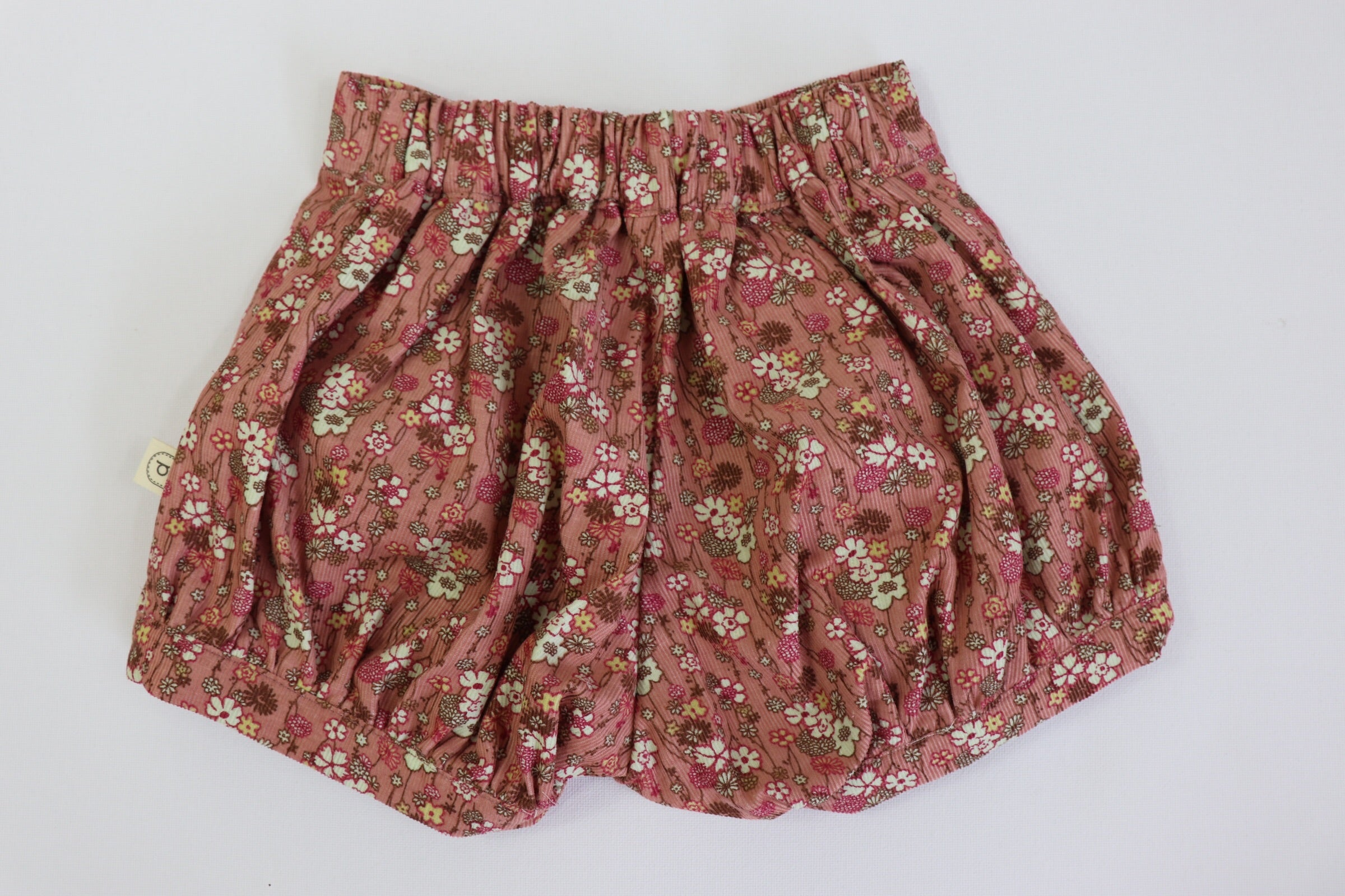 Poche Pleated Shorts - WINTER PINK