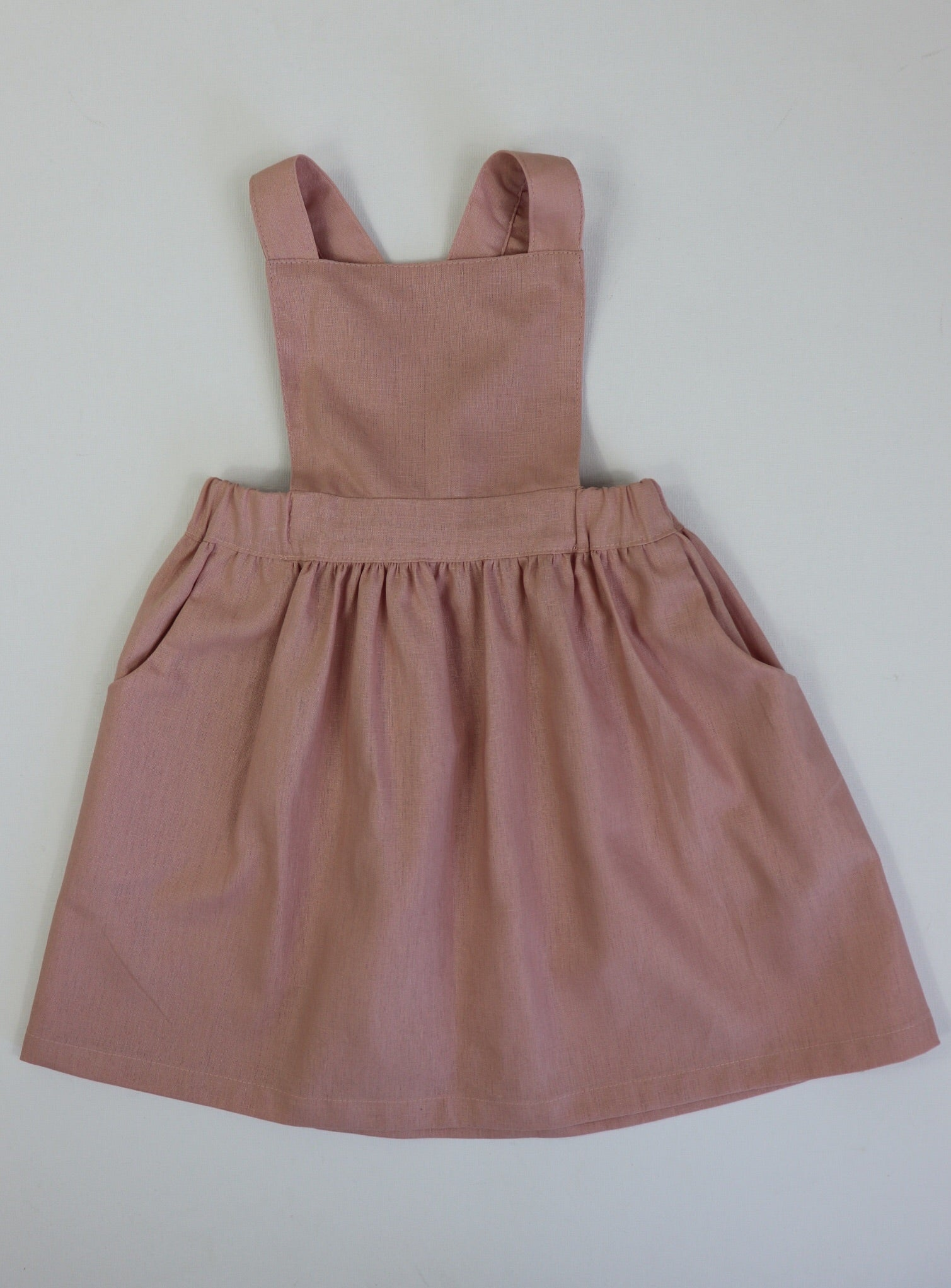 Poppy Pinafore DUSTY PINK