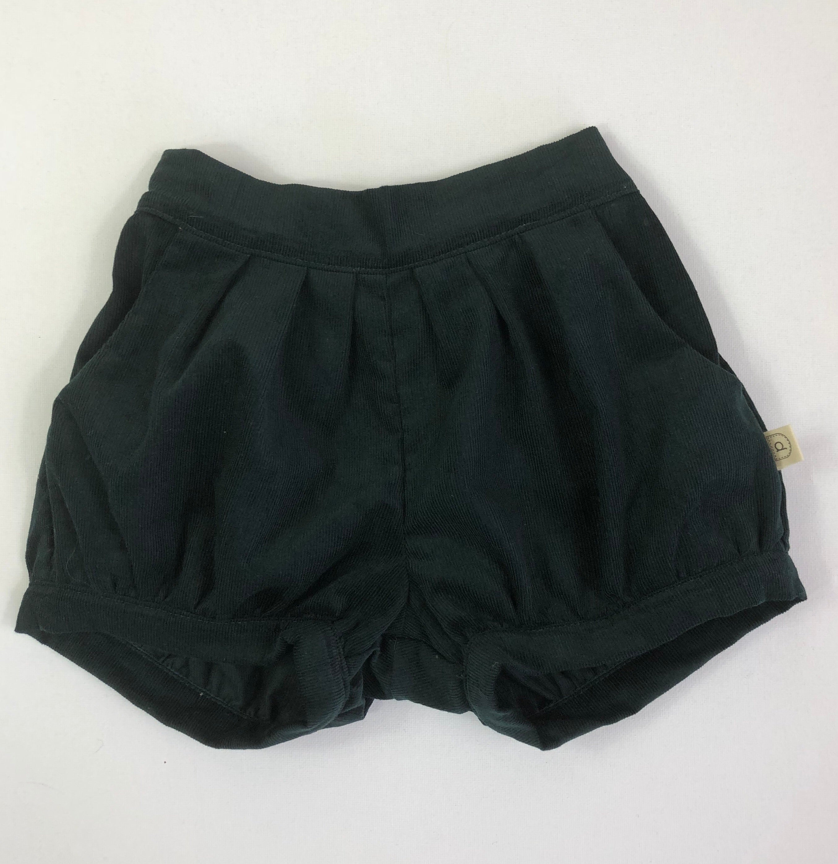 Poche Pleated Shorts - TEAL