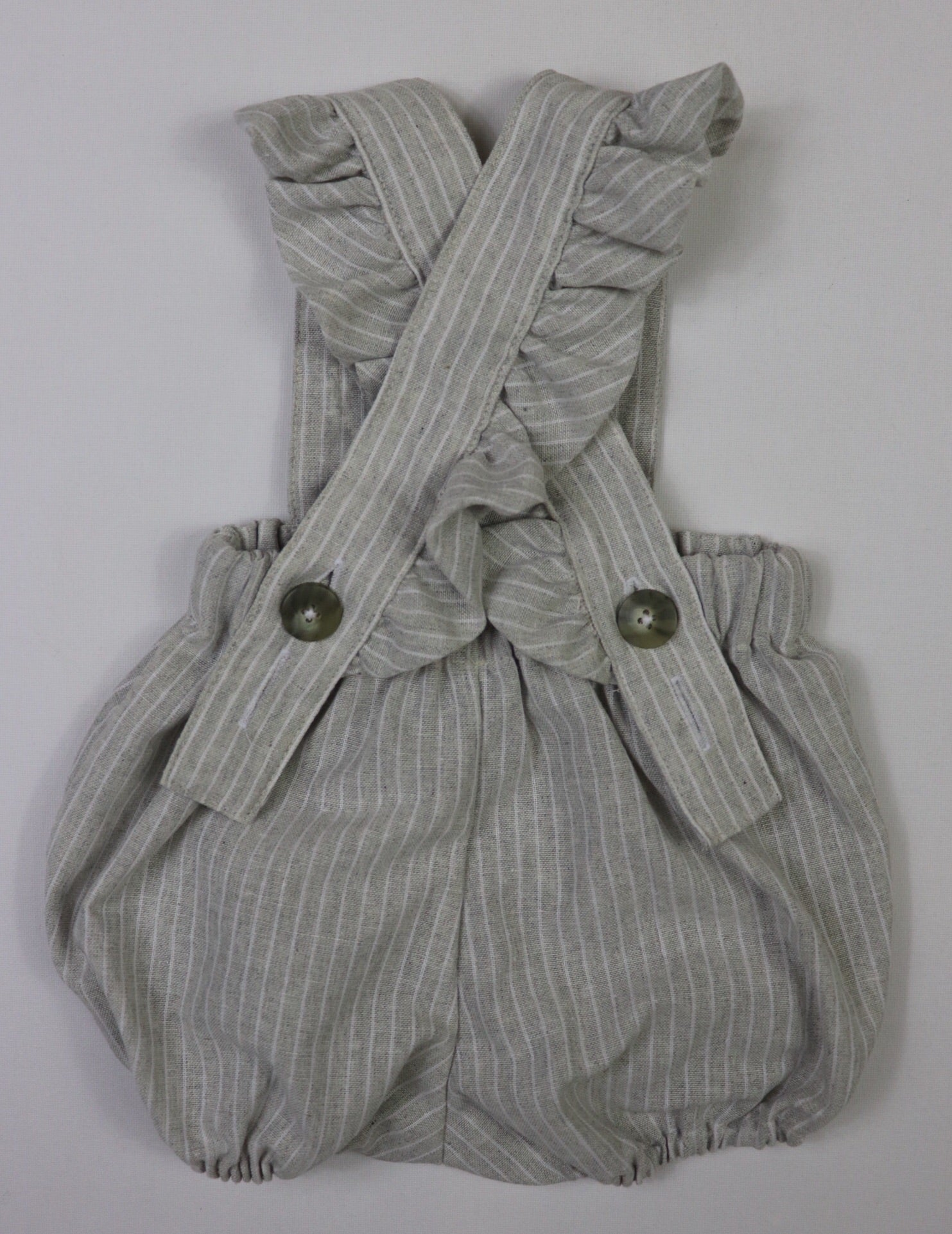 Peggy Playsuit SUMMER GREY STRIPE