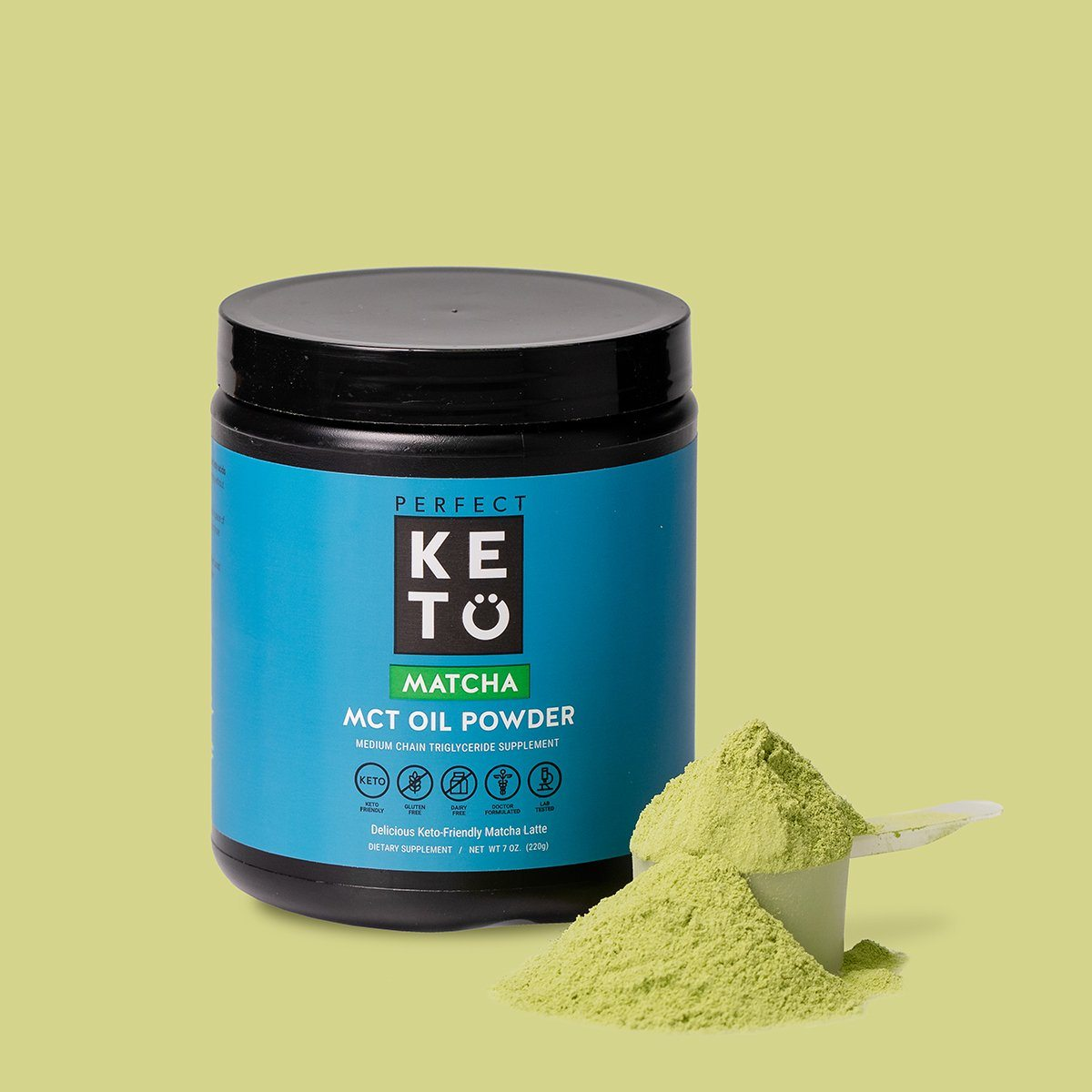 Matcha Latte MCT Oil Powder