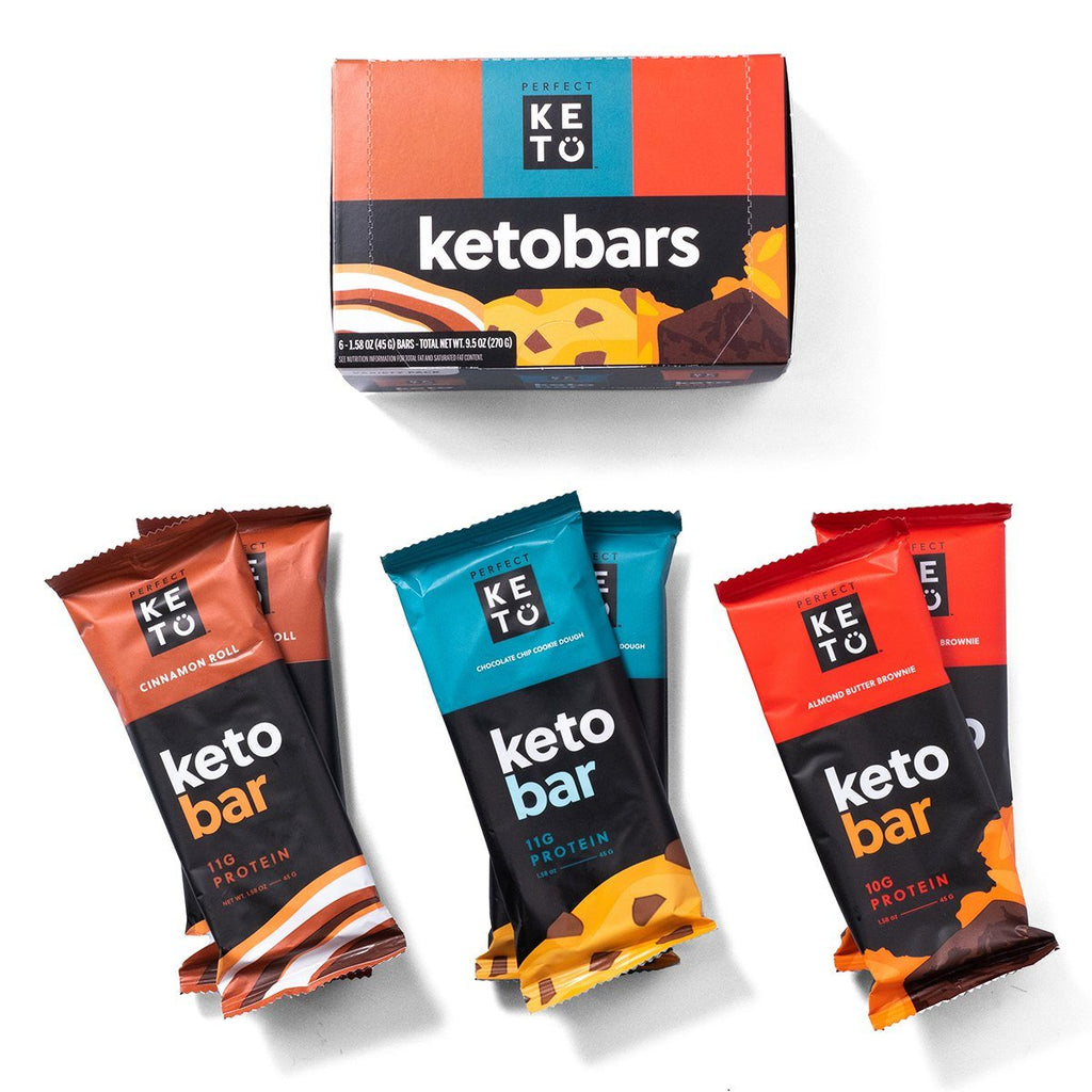 Keto Bar Variety Pack - 6 Bars