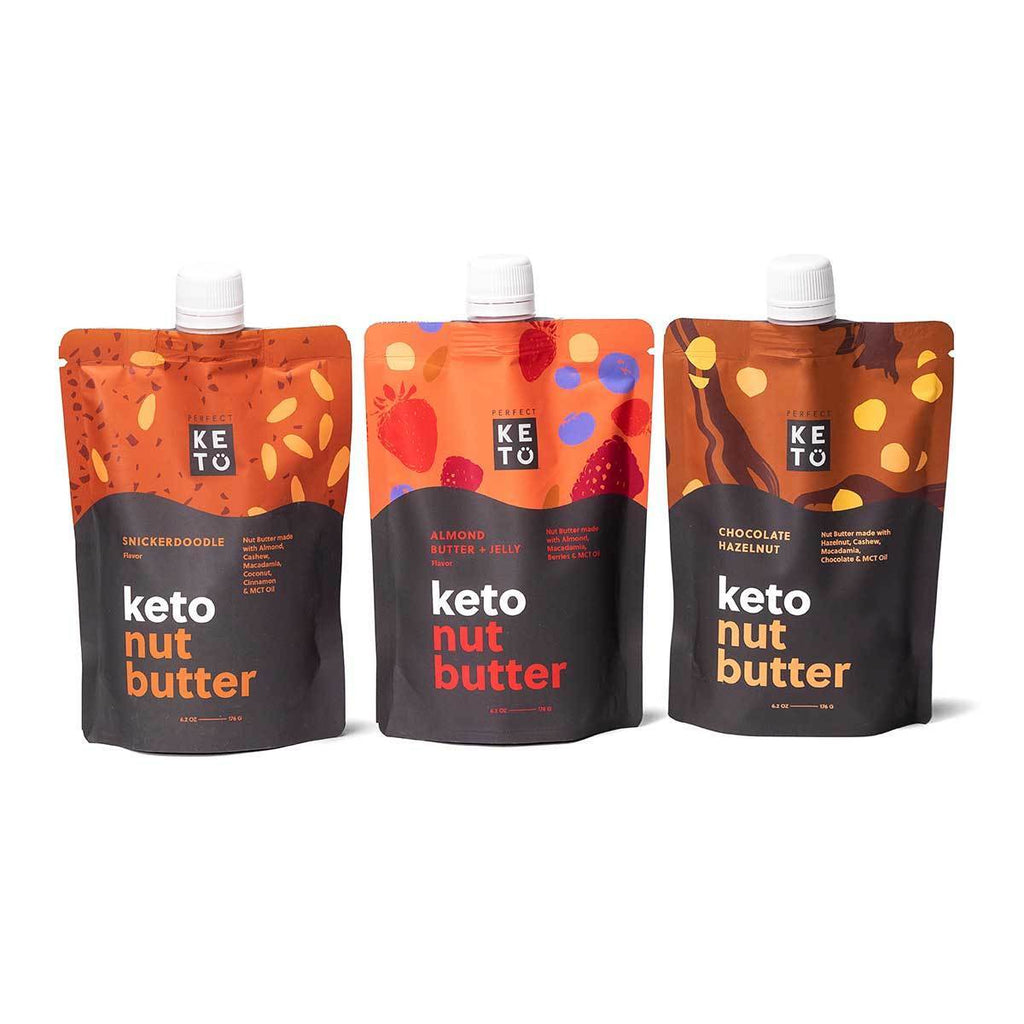 Perfect Keto Nut Butter - Variety Pack
