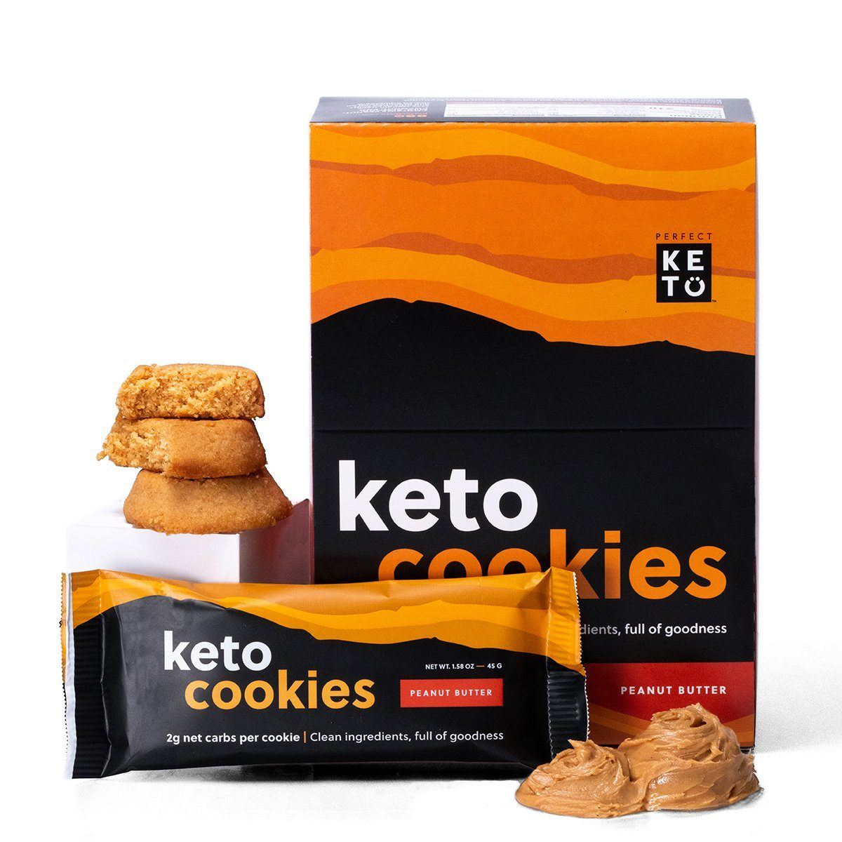 Perfect Keto Peanut Butter Cookies